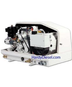 Compact Kubota marine diesel generator 3.5 kW keel cooled