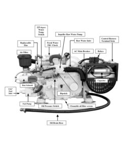 compact-kubota-marine-diesel-generators-3.5-kW-wo-enclosure-front-view