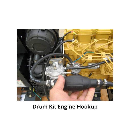 Drum tank kit engine hookup