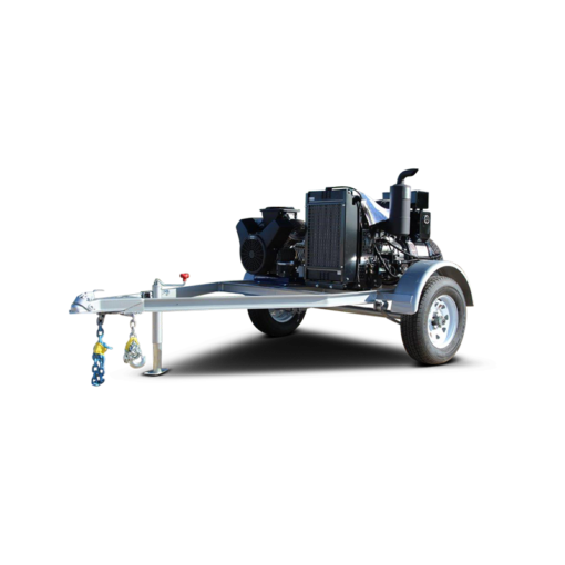 Diesel Framer genset and compressor package for contractors